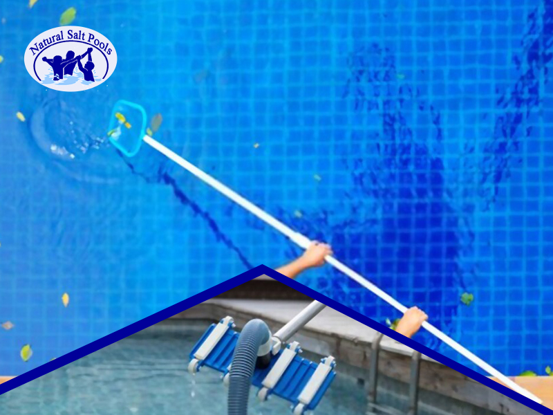 swimming-pool-leaf-net-being-used-to-clear-out-leaves-from-pool-water-surface-and-small-picture-of-pool-vacuum